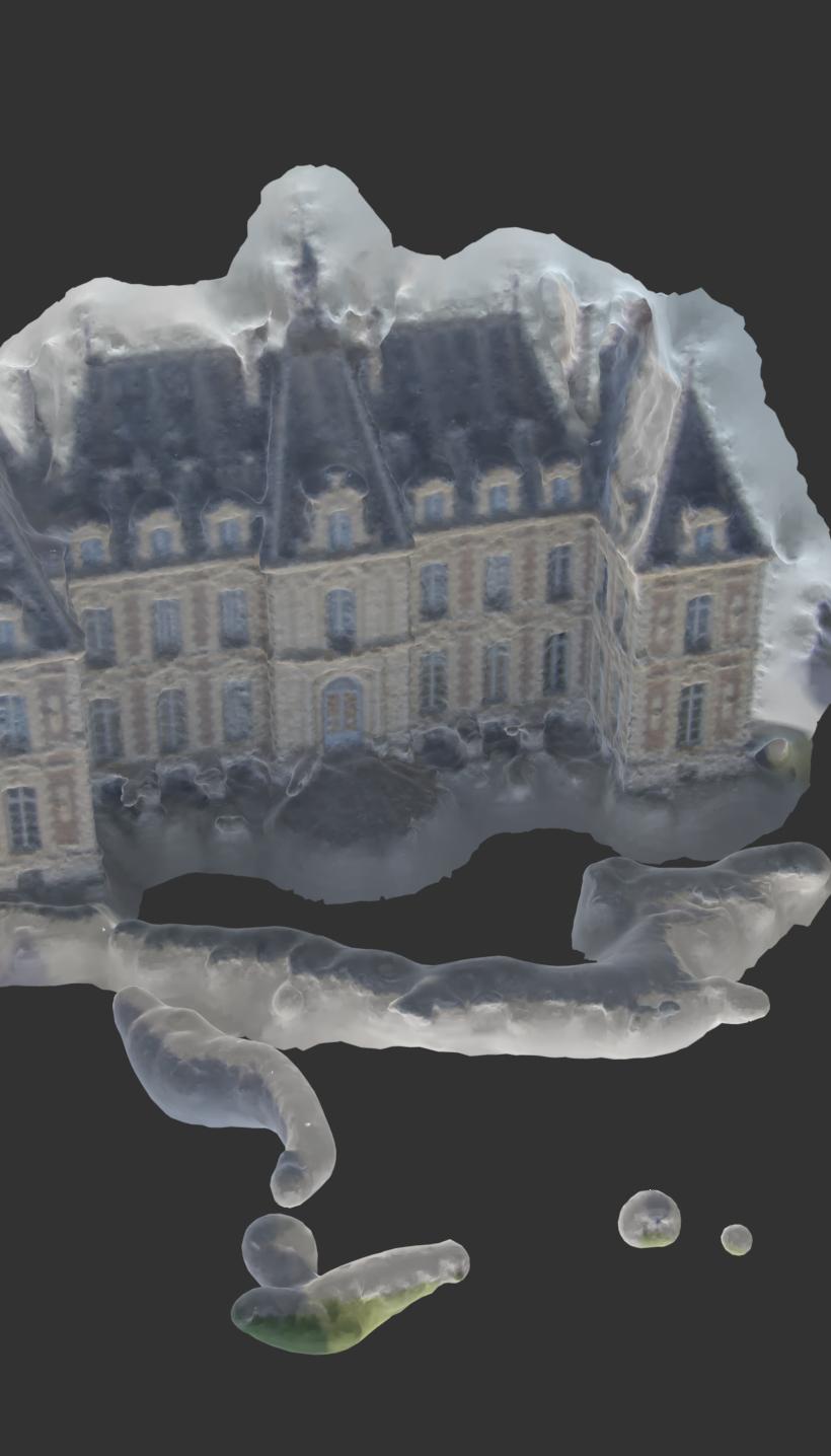 sceaux castle 3d model